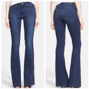 Paige Petite Holly Boot Cut Jeans
